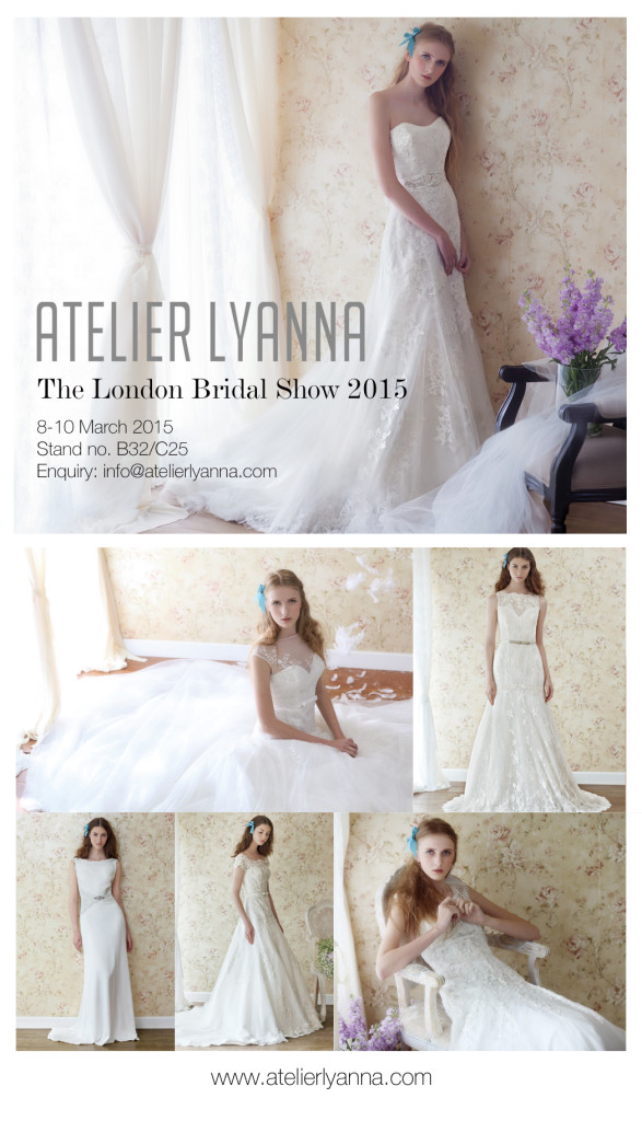 Atelier Lyanna at London Bridal Show 2015