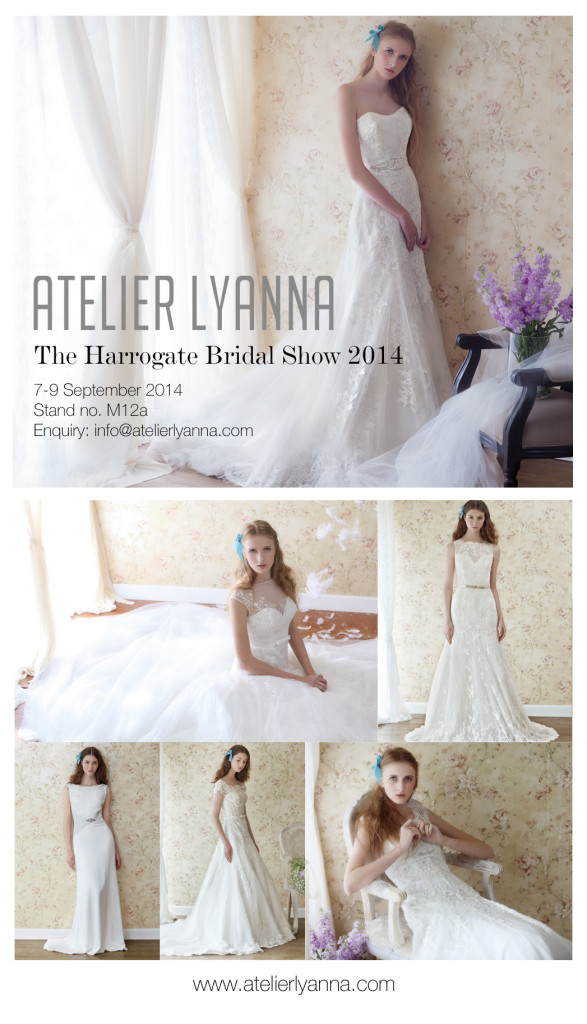 Atelier Lyanna at The Harrogate Bridal Show 2014