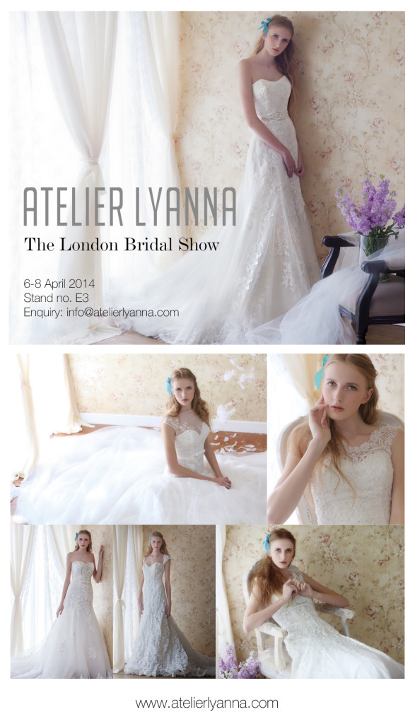 Atelier Lyanna at London Bridal Show 2014